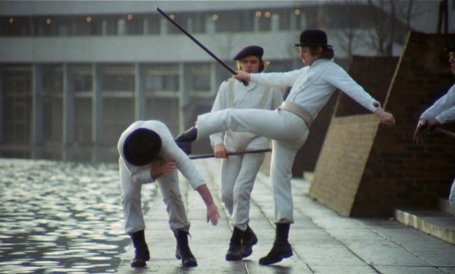 a clockwork orange gang