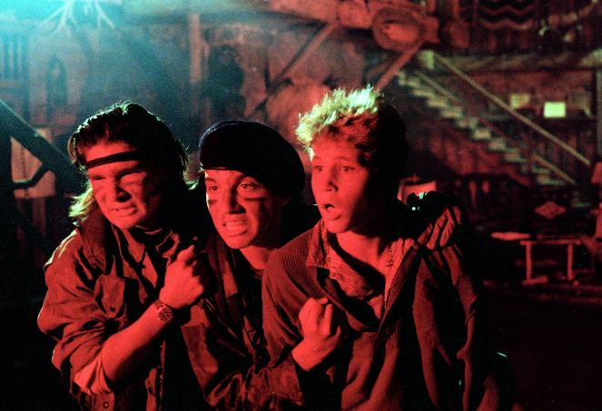 still-of-corey-feldman,-corey-haim-and-jamison-newlander-in-the-lost-boys-(1987)-large-picture