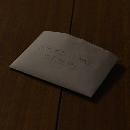 Dark Michael Kahnwald envelope