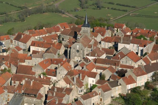 Flavigny Sur Ozerain in Burgundy